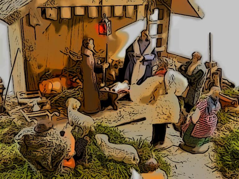 Weihnachtsgeschichte Plattdeutsch